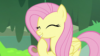 """Fluttershy """"really adds a shine to their coat"""" S7E20"""