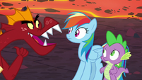 """Garble """"but if I win"""" S7E25"""