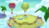 Las Pegasus hot-air balloon port S8E5