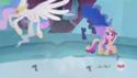 Princess Luna's body disappears S4E26