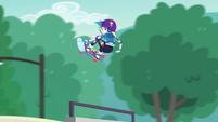 Rainbow Dash doing a midair 360 EGDS32