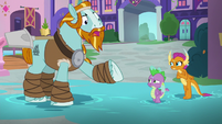 """Rockhoof """"did you not see the smoke"""" S8E21"""