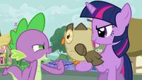 Spike and Owlowiscious -you know 'hoo'- S03E11