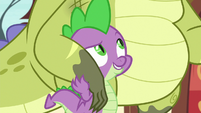Spike helpfully supports Sludge S8E24