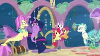 Twilight Sparkle -that sounds adorable!- S8E6