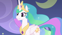 Celestia waiting for feedback on her acting S8E7