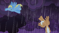 Cerulean Skies and Emerald Green in the storm S9E17