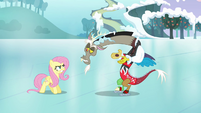 """Discord and Fluttershy """"what's wrong, pal?"""" S03E10"""