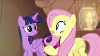 Fluttershy -Twilight had suggested all along- S7E20