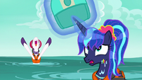 Luna's makeover ruined by the water S9E13
