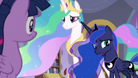 """Luna """"we came to talk to you about"""" S9E17"""