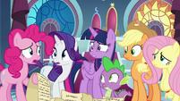"Pinkie Pie ""should I keep reading?"" S9E13"