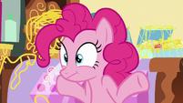 Pinkie Pie shrugging S7E19