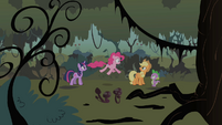 Pinkie Pie suggests a second spontaneous explosion S01E15
