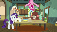 Pinkie drops butter from the ceiling S9E7