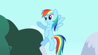 """Rainbow Dash """"a great guest party pony"""" S4E12"""