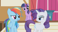 Rarity -did you see her mane-- S1E04