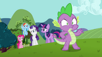 """Spike """"maybe you should ask her"""" S03E10"""