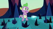 Spike near Crystal Heart S3E2