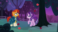 Starlight makes apples fall out of the tree S7E24