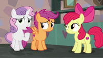 Sweetie Belle adding -over-the-top- S7E8