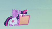 Twilight flies while looking at the map S5E23