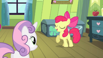 Apple Bloom -somepony watchin' over me!- S4E17