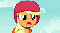 Applejack directs the students slowly S8E9