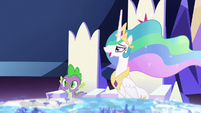 "Celestia ""you have an overachieving student"" S7E1"