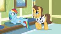 Doctor worried about Rainbow Dash S2E16