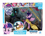 Guardians of Harmony Princess Twilight Sparkle vs. Changeling packaging