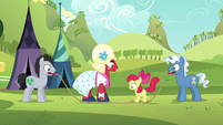Orchard Blossom unable to jump S5E17