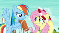 Rainbow Dash disappointed in Fluttershy S6E18