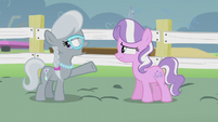 "Silver ""I tried to help by mentioning your 'surprise' statue"" S5E18"