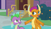 """Smolder """"a fire-breathing competition"""" S8E21"""