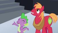 """Spike """"I hope you like awesome games!"""" S6E17"""