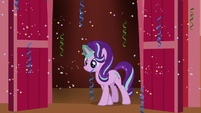 Starlight Glimmer walking out of Town Hall S8E3