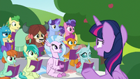 """Twilight """"it's time for something Rarity likes"""" S8E17"""