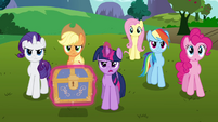 Twilight and her friends -time to get started- S03E10