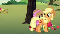 "Applejack ""you know about that kind o' stuff"" S7E9"