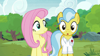 Dr. Fauna uncovers her eyes S7E5