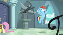 """Rainbow Dash """"how long will it take them"""" S9E21"""