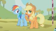 Rainbow Dash and Applejack S01E13