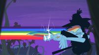 Rainbow Dash tackles shadowy figure S4E07