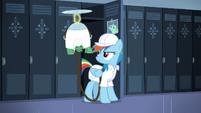 Rainbow and Tank with factory worker uniforms S5E5