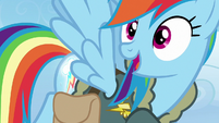 Rainbow realizes the Cutie Map is calling her S6E24