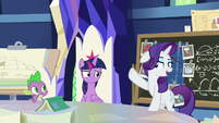 """Rarity """"allow me to demonstrate"""" S9E4"""