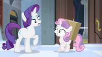 "Rarity ""do you have any idea"" S4E19"