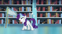 Rarity sees that Flurry Heart has disappeared S6E2