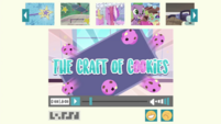 The Craft of Cookies title card EGDS30